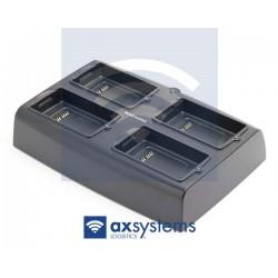 Cargador datalógic 4 baterías skorpio X3