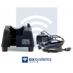 Cargador + alimentador + cable USB + cargador coche PSION, Pack