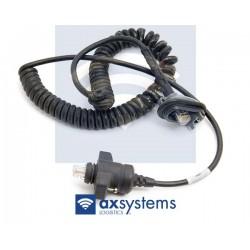 Cable sabre Intermec 1551 A terminal carretilla 2455 Ocasión