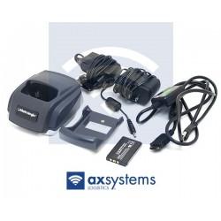 Pack Metrologic, cargador, alimentador, soporte y batería Ocasión